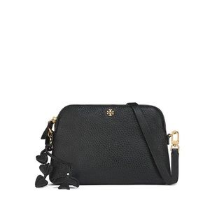 Tory Burch Peace Pebbled Leather Crossbody NWT